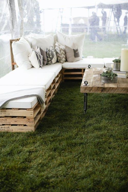 Мебель из паллет для сада и дачи