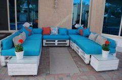 мебель из поддонов дизайн дачного участка подушки для мебели из поддонов